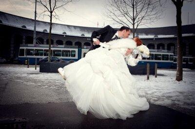 6 Gründe, um im Winter zu heiraten!