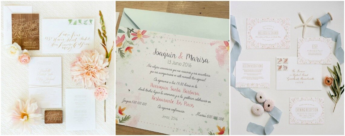 Beautifully Bold Wedding Invitations for 2018: Tantalize Your Guests!