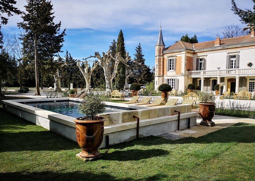 Espaces agrandis et décoration revisitée : faites du Mas d'Arvieux l'écrin de votre mariage en Provence