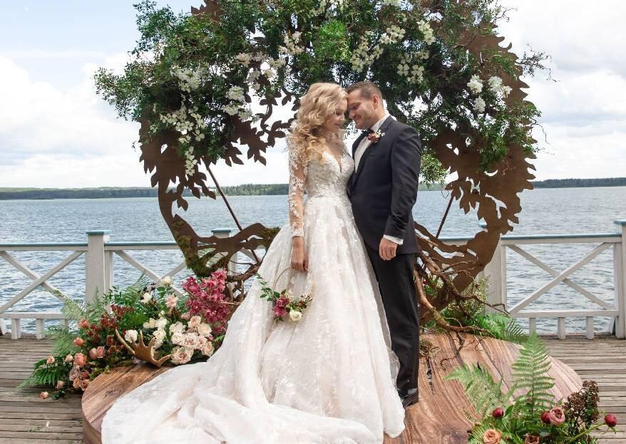 Сказочная история любви: свадьба Валерии и Рафала