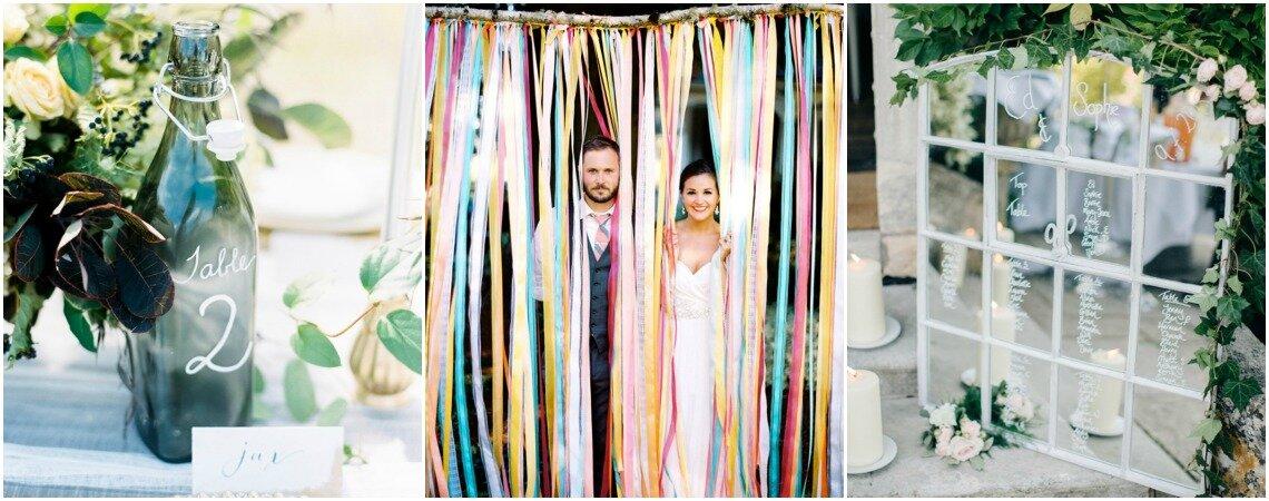 DIY ideeën voor vintage bruiloft decoratie: verras de gasten met jullie eigen creaties!