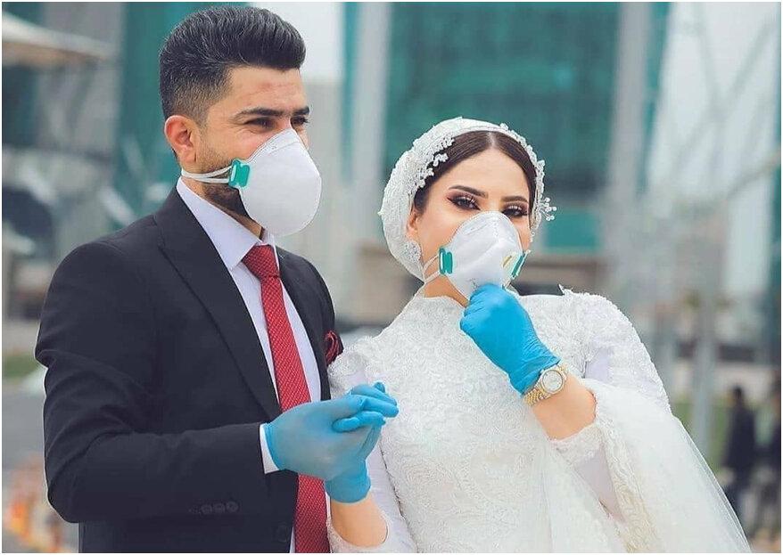 Planear tu boda en tiempos de crisis: ¿cómo hacerlo?