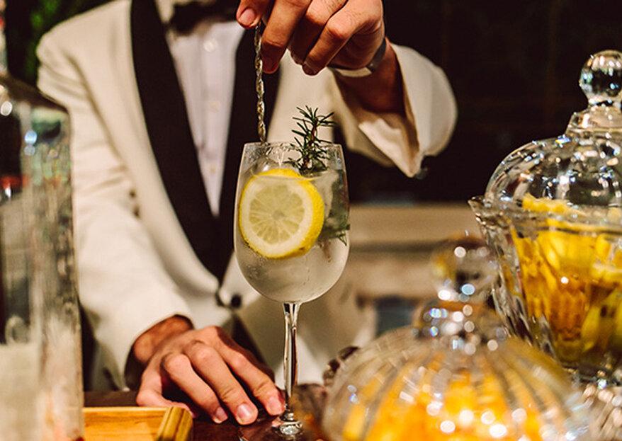 Bares para casamento: além de lindos, oferecem bebidas que podem garantir o sucesso da festa!