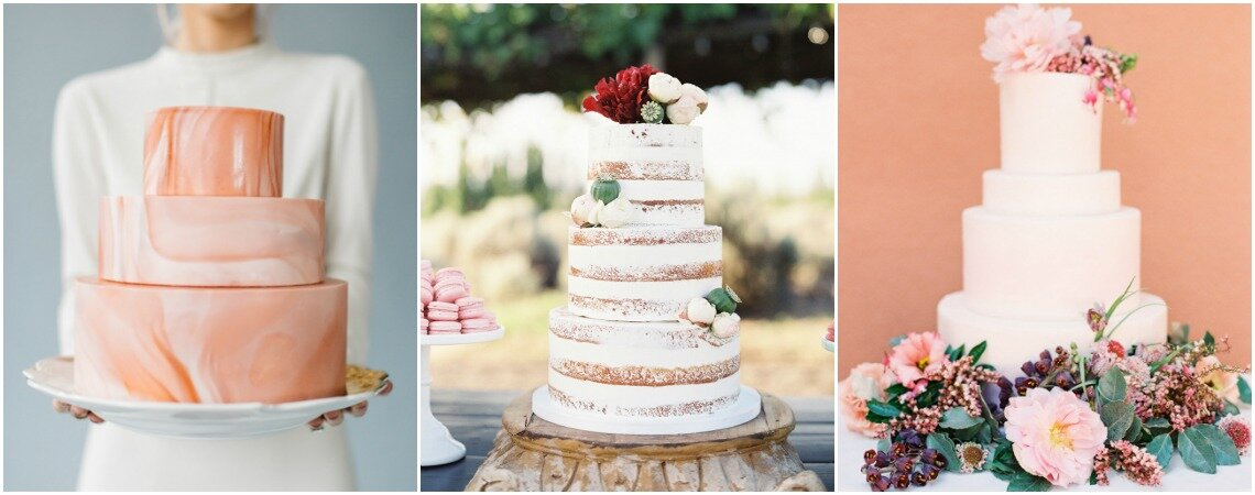 Top Wedding Cake Trends For 2018: Floral Designs Rule!