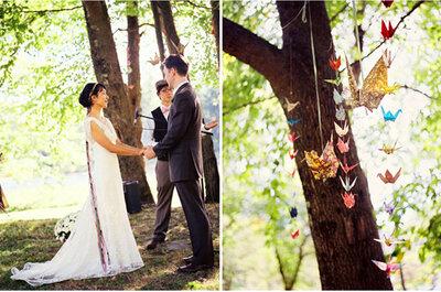 Detalles en papel para la decoración de tu boda
