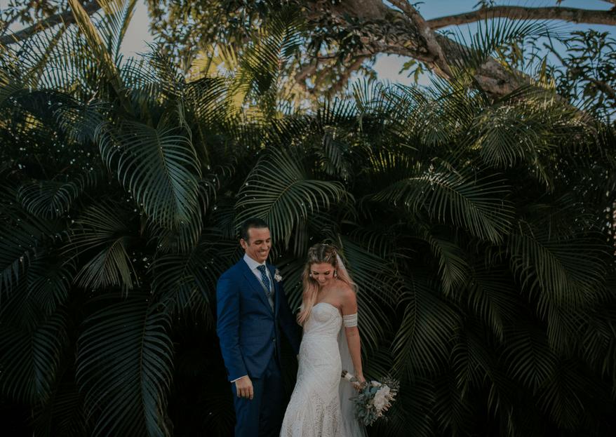 Una boda con estilo: el camino de Denise & Jimmy hacia el altar