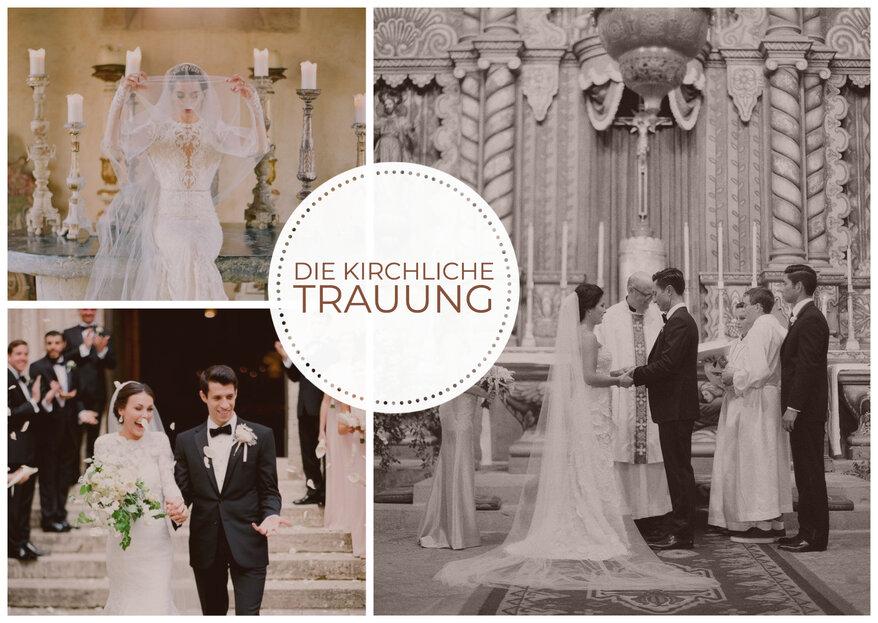Die kirchliche Trauung - Alles was Ihr dazu wissen müsst!