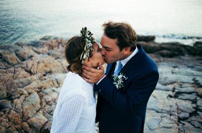 L'époustouflant mariage en Corse d'Olympe + Pierre
