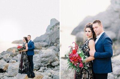 Яркая и страстная история любви Максима и Елены в Крыму!