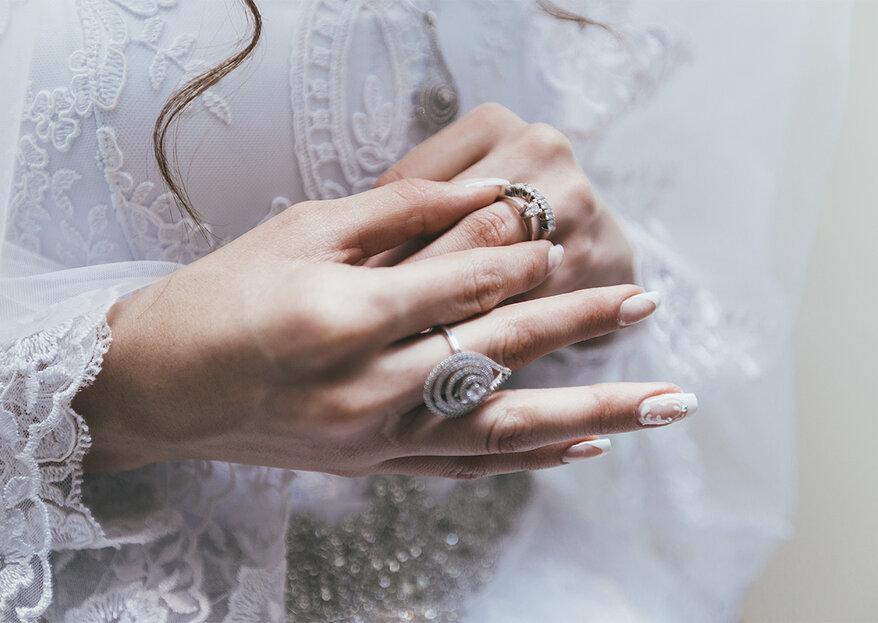 10 manicuras para lucir tu anillo de compromiso según tu estilo