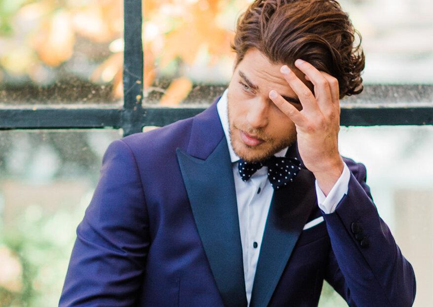 Encontrar o fato ideal para o noivo: 3 pistas certeiras de João Jacinto, The Gentleman