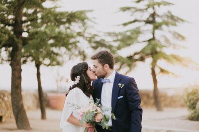 No pude parar de sonreír: la boda de Paloma y Óscar