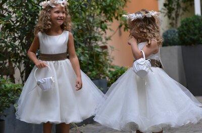 Edelweiss Paris: le paradis des enfants pour les robes de cortège et costumes de cérémonie