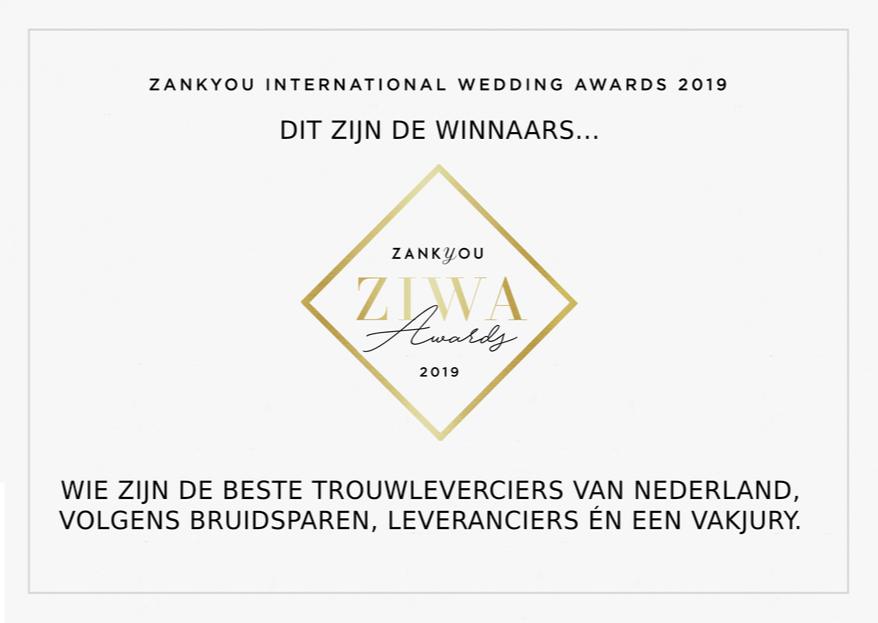 Dit zijn de winnaars van de ZIWA Awards 2019!