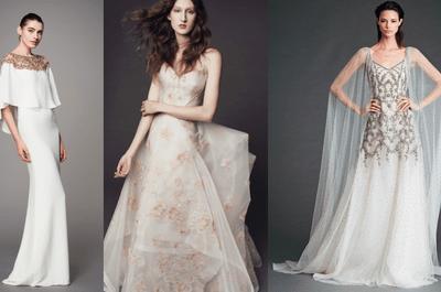 16 looks de novia de las colecciones Pre Fall 2017: ¡Sé una novia diferente!