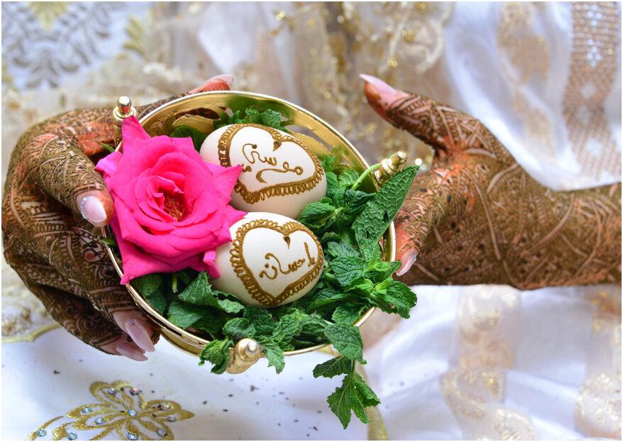 Hoe ziet een Marokkaanse bruiloft eruit?