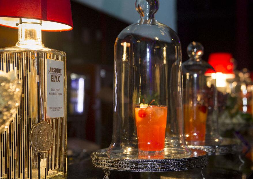 Inove nos drinks, surpreenda os convidados e deixe o seu grande dia ainda mais inesquecível!