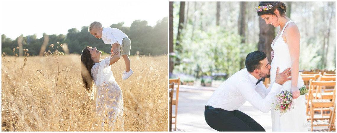 Cómo organizar tu boda cuando estás embarazada en 5 pasos