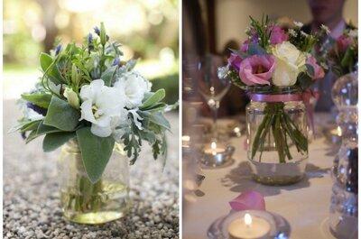 DIY- Hochzeitsdekoration - Sparen Sie bei Ihrer Hochzeit Geld