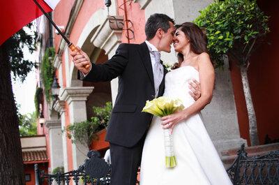 Las fotografías perfectas para tu boda con sólo 3 puntos ¡Descúbrelos!