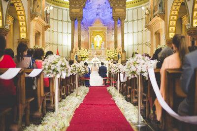 Cómo decorar la iglesia en tu matrimonio. ¡Inspírate con estas ideas!