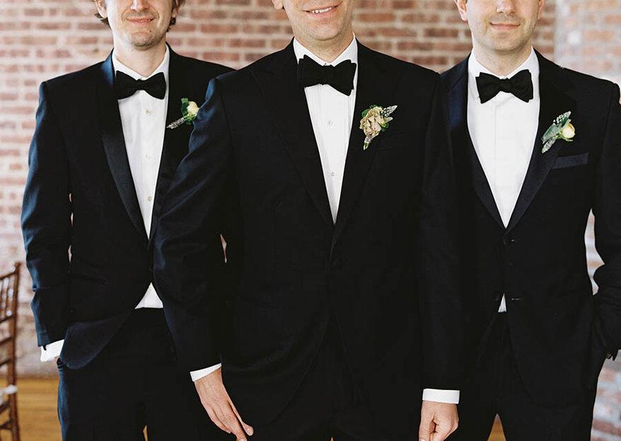 Los Damos de Honor, caballeros de honor o best men: Descubre quiénes son y cuáles son sus funciones en las bodas