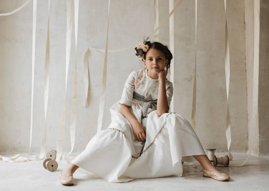 Cómo vestir a los pajes en una boda. Tips de estilo para los más pequeños