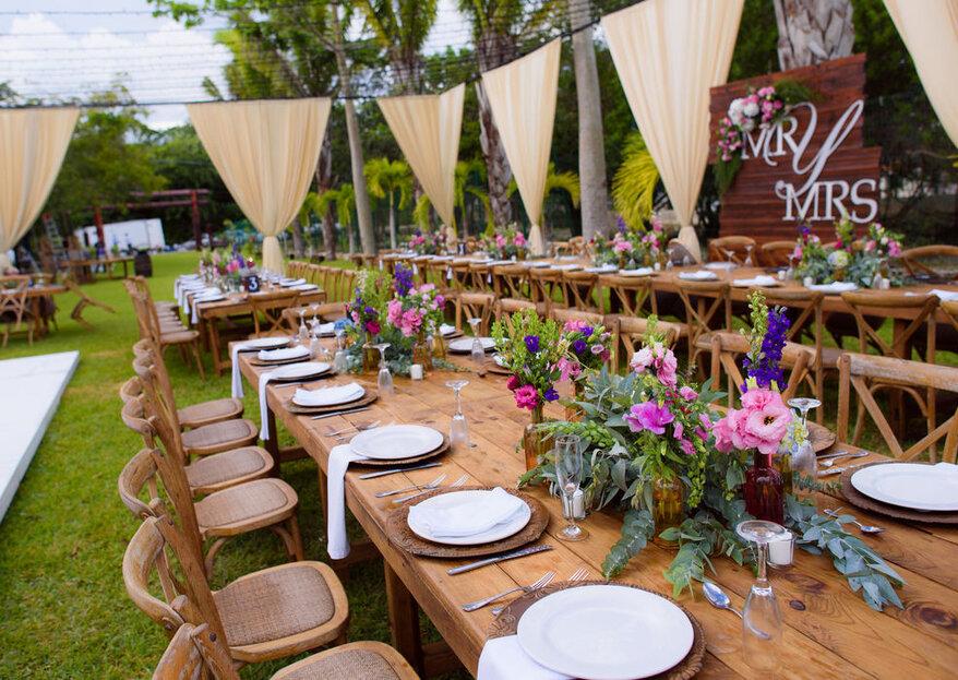 White Liberty: ¡Los diseñadores que harán la boda de tus sueños en un paraíso, hechos realidad!