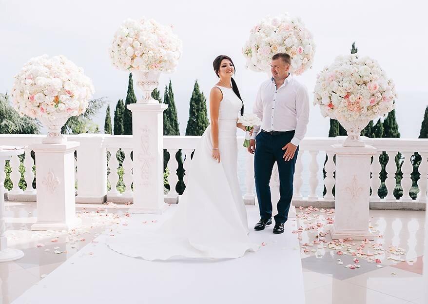Сердца объединились: свадьба Алены и Александра в Крыму
