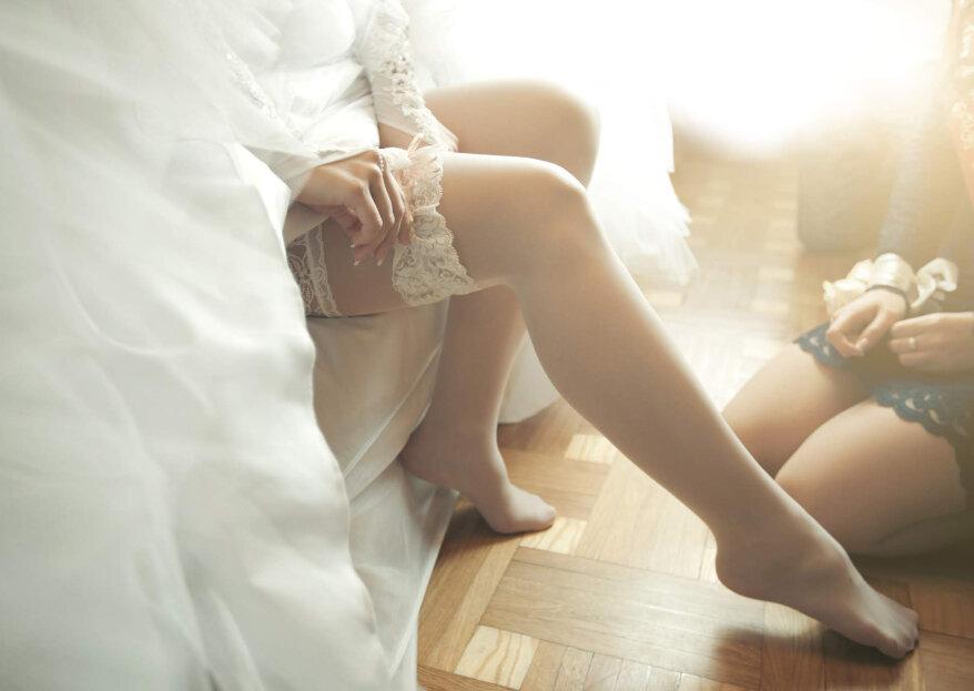 Pantis para novias: ¿qué diseño elegir y cómo usar las medias en tu gran día?