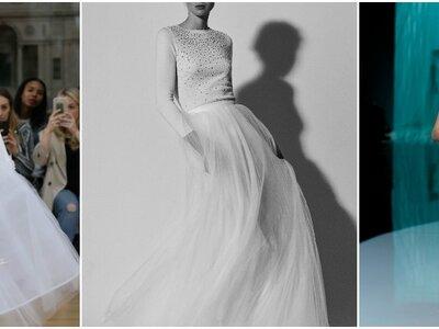 Robes de mariée deux pièces : optez pour un style juvénile et moderne !