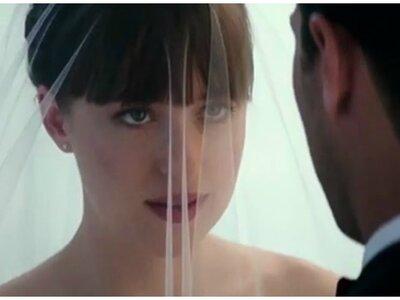 ¡Llega el trailer de '50 sombras liberadas'... con las primeras imágenes de la boda entre Christian y Anastasia!