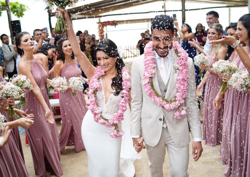 Luai Cabanas: o seu casamento em um local paradisíaco, de frente para o mar e pé na areia do jeito que você sempre sonhou!