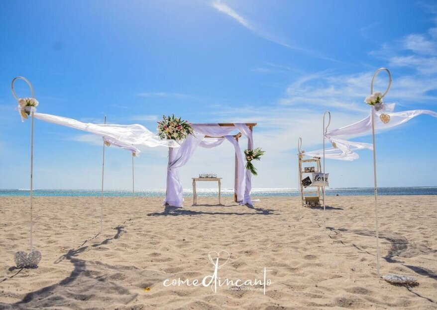 Come d'incanto - wedding & travel planner, will support you from beginning to end on your special wedding journey