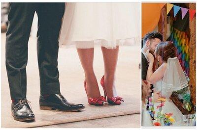 La alegría de tu boda en divertidos colores: Arma una decoración inspirada en el arcoíris