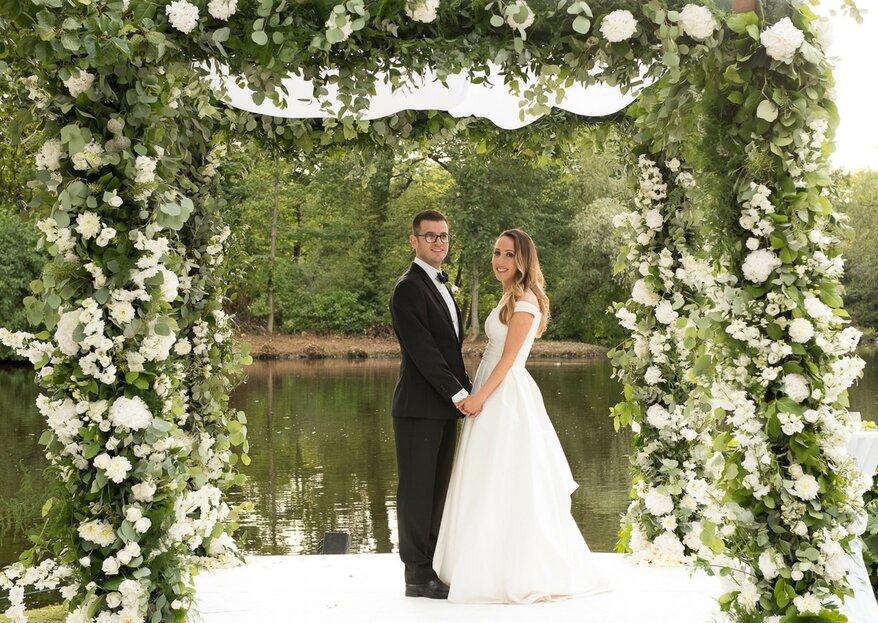 Pippa and Josh's Secret Garden Wedding In Cheshire