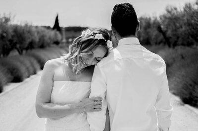 Charlotte + Jérôme : un mariage surprise riche en émotions