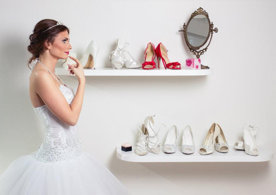 Cómo elegir los zapatos de novia: ¡acierta con tu calzado nupcial!