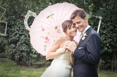 Ombrellini, cappelli, ventagli e tante altre idee per un matrimonio sotto il sole