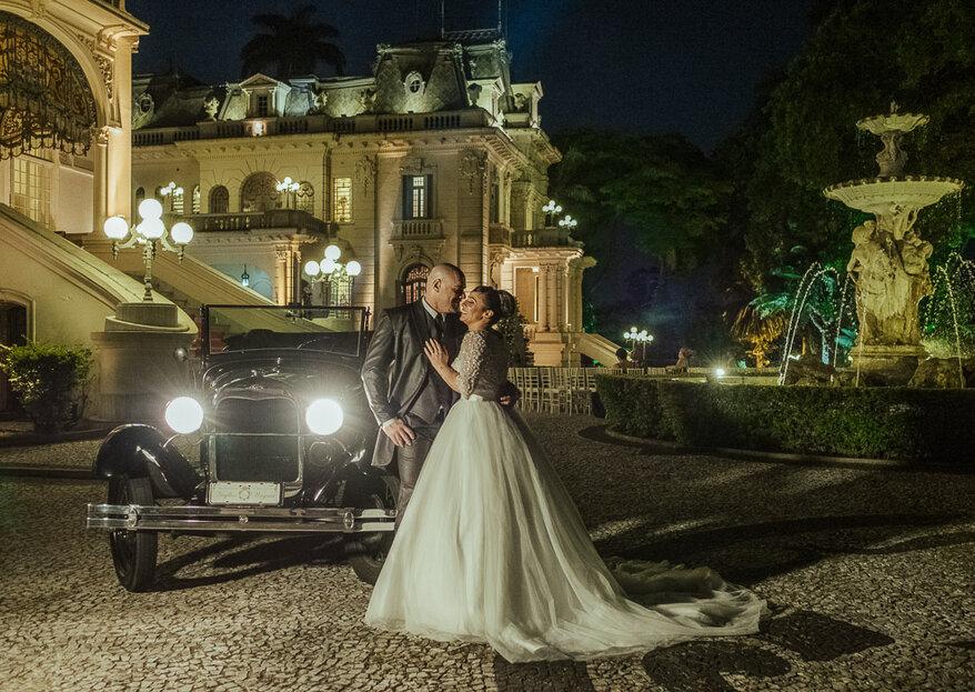 Nayllen & Wagner: A realização de um sonho no Palácio dos Cedros registrado pelas lentes de Julia Rezende Fotografia