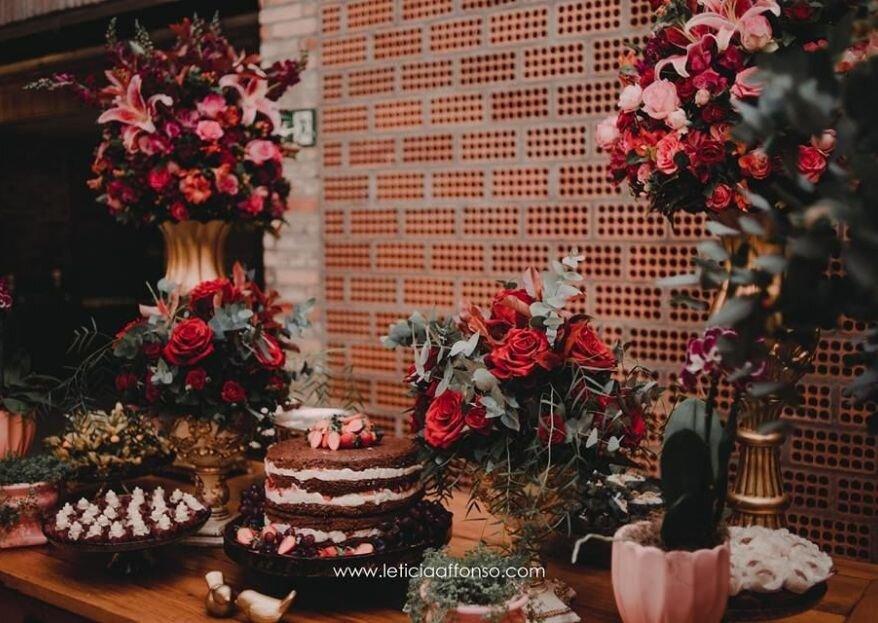 Flor Brasileira: decoração personalizada onde todos percebem o carinho e exclusividade em cada detalhe!
