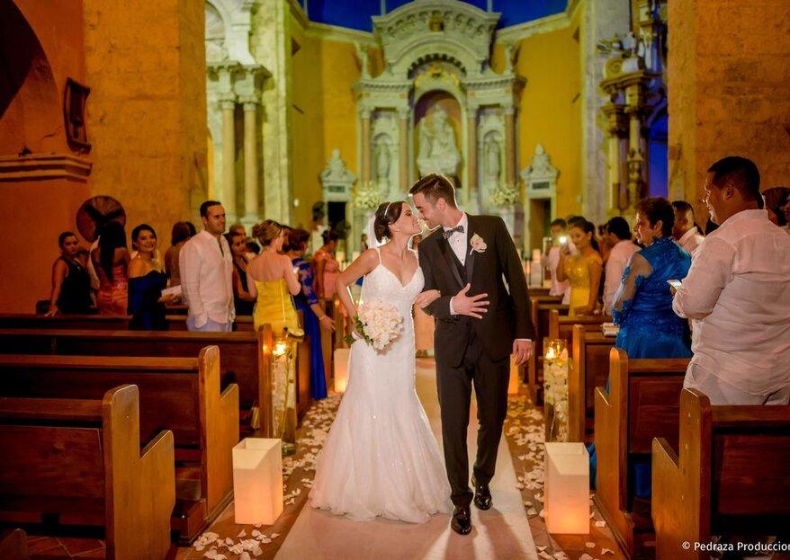 Las mejores iglesias para casarte en Cartagena: ¡vive una ceremonia celestial!
