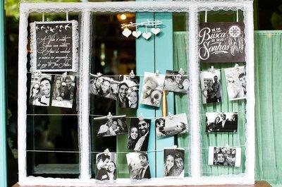 Decoração de casamento com fotos: ambientes personalizados e aconchegantes!