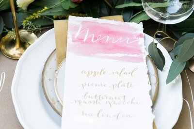 Ideas perfectas para decorar tu boda en color rosa pastel: El romance jamás había sido tan lindo