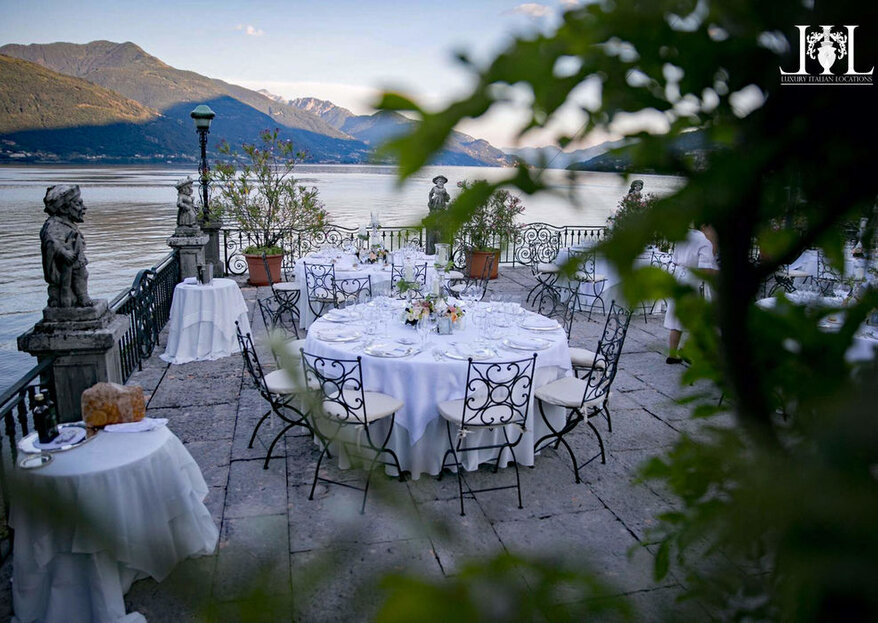 Get Married With A View On Italy's Finest: Villa Rubini Redaelli