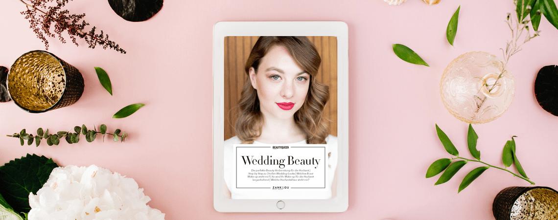 Kostenloses Beauty-eBook: Die besten Frisur- und Schmink-Tipps für die Hochzeit!