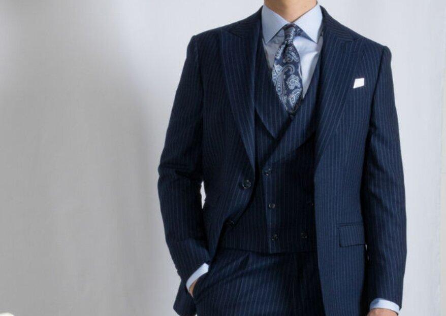 Scavini : dites « oui » à des costumes de mariés alliant style et qualité