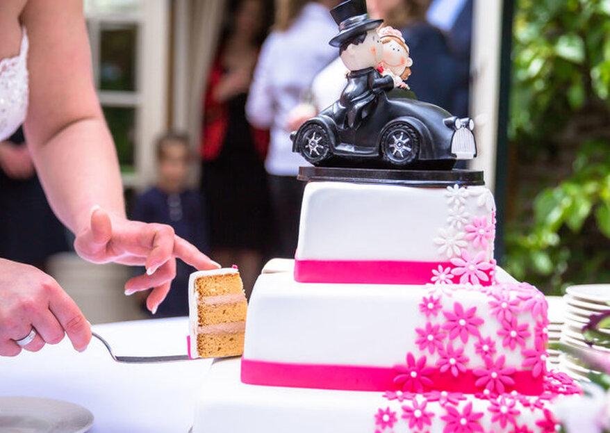 Bruidstaart bestellen: waar moet je allemaal aan denken?