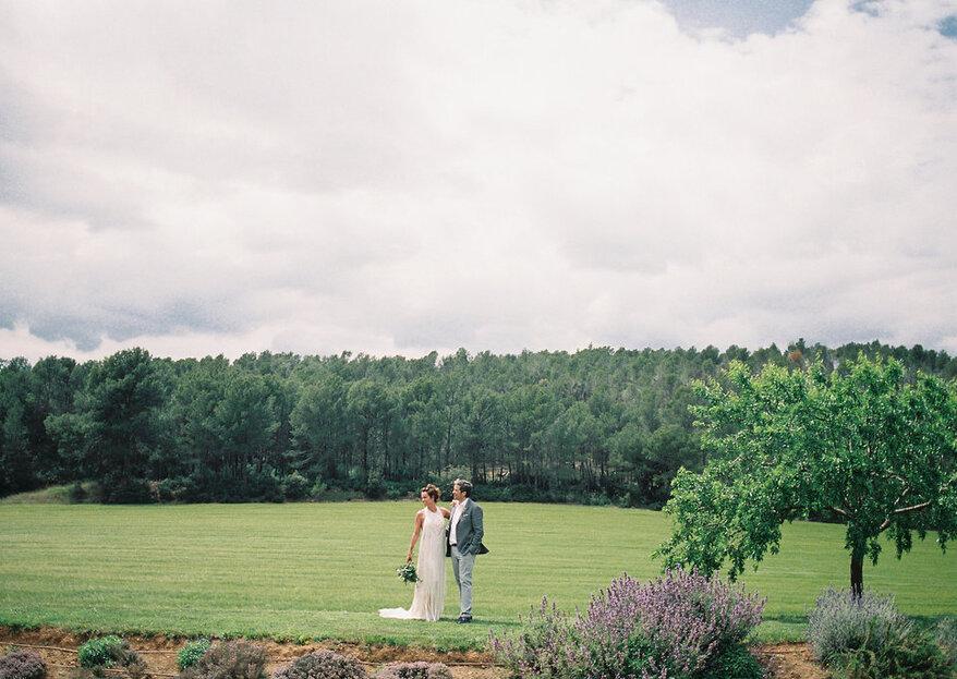 Un sueño boho-chic en plena naturaleza: la boda de Cristina y Gonzalo