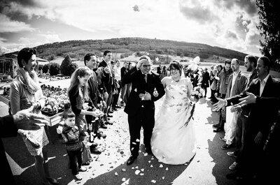 Traumhochzeit mit Spaßfaktor: Bezaubernde Aufnahmen vom Brautpaar Selina und Marcel in Regensdorf!
